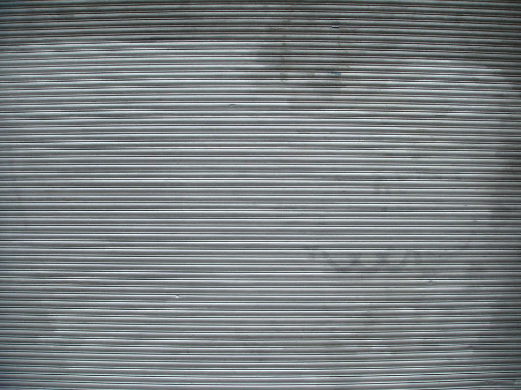 Corrugated Metal Texture Painted Michael Sutton Long