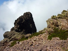 En approchant de Bocca di Serra Pianella : la Grande Barrière vers le N et Capu Ucellu