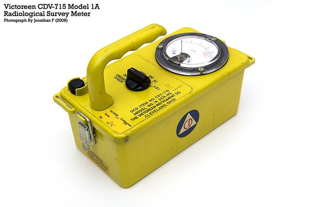 Victoreen CD-715 Model 1A