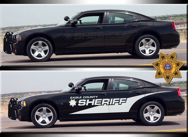 Eagle County Sheriff Colorado Stealth Charger This