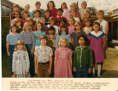 5th Grade Class Photo This Is My 5th Grade Class Photo