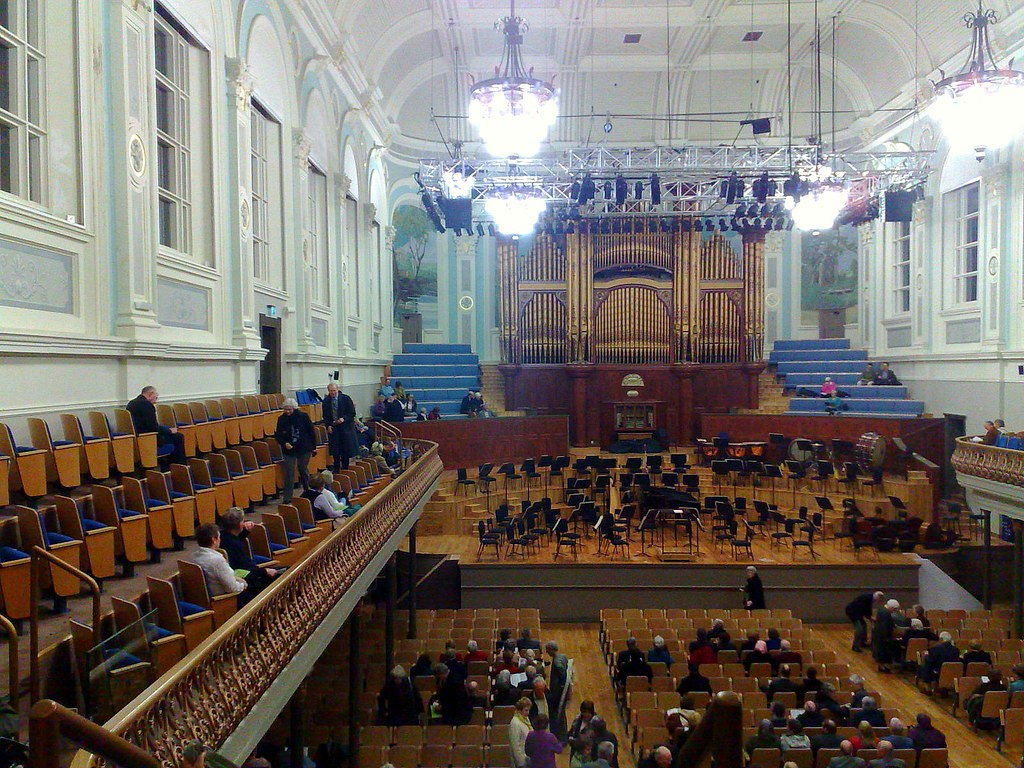 Ulster Hall Belfast Restored The Front Of The Hall