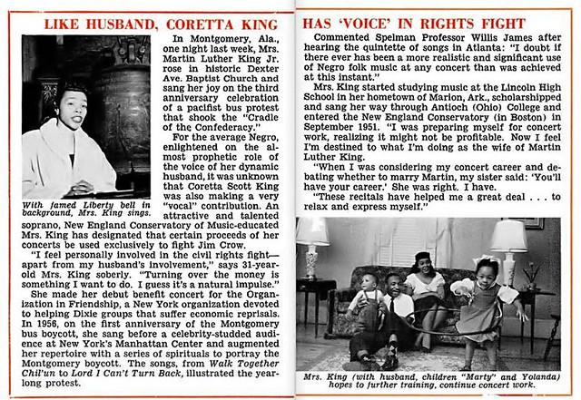 Coretta Scott Cal . king