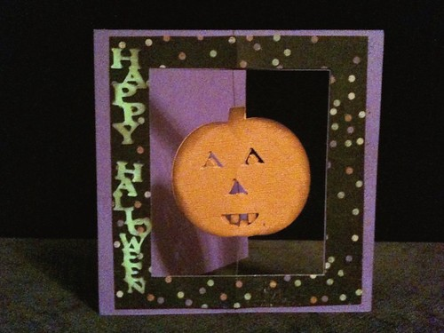 Suspended Halloween Card | by Create Your Heart Out