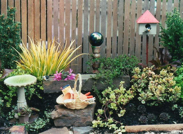 The original mini garden our very first wee landscape proj flickr the original mini garden by janit of two green thumbs miniature garden center workwithnaturefo