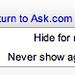 Ask Framed Results