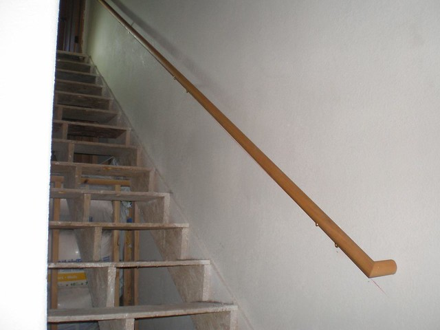... 20090820   Basement Stairs Handrail 1   By Kelly And Debra