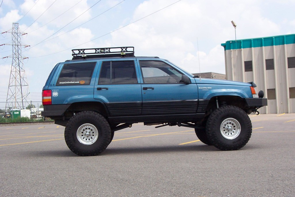 Very Nice Lifted Blue Zj Larry James Flickr