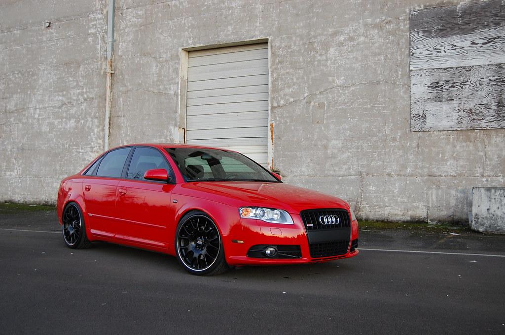 Audi A4 S Line Titanium On Bbs Jeremy Flickr