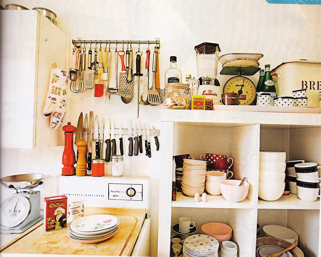Cute kitchen shelves scanned from march real living lorryx3 flickr - Stylish cooking ...