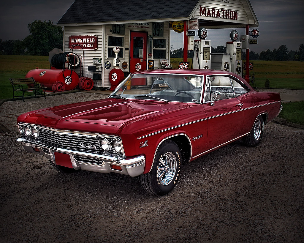 1966 Chevy Impala Ss I M Fond Of The 66 As I Owned A