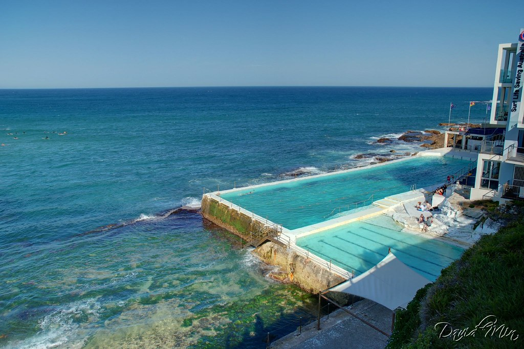 Sydney bondi icebergs swimming pool the south end of - Heated public swimming pools sydney ...