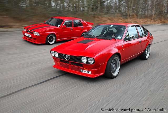 alfa romeo gtv6 75 3500cc two nicely tuned v6 alfas feat flickr. Black Bedroom Furniture Sets. Home Design Ideas