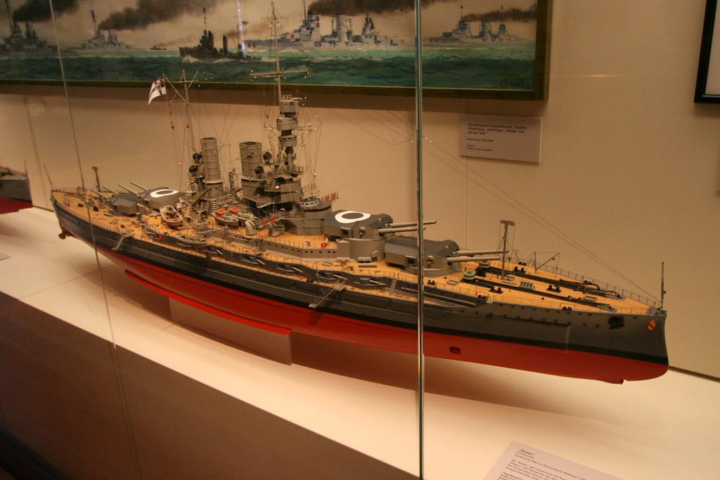 Maritimes Museum Hamburg - SMS Baden der Kaiserlichen Mari ...