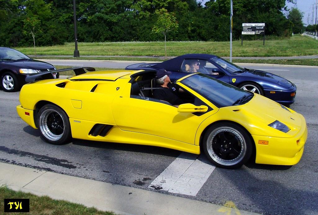 Lamborghini Diablo Vt Roadster Amp Ferrari F355 Spider Flickr