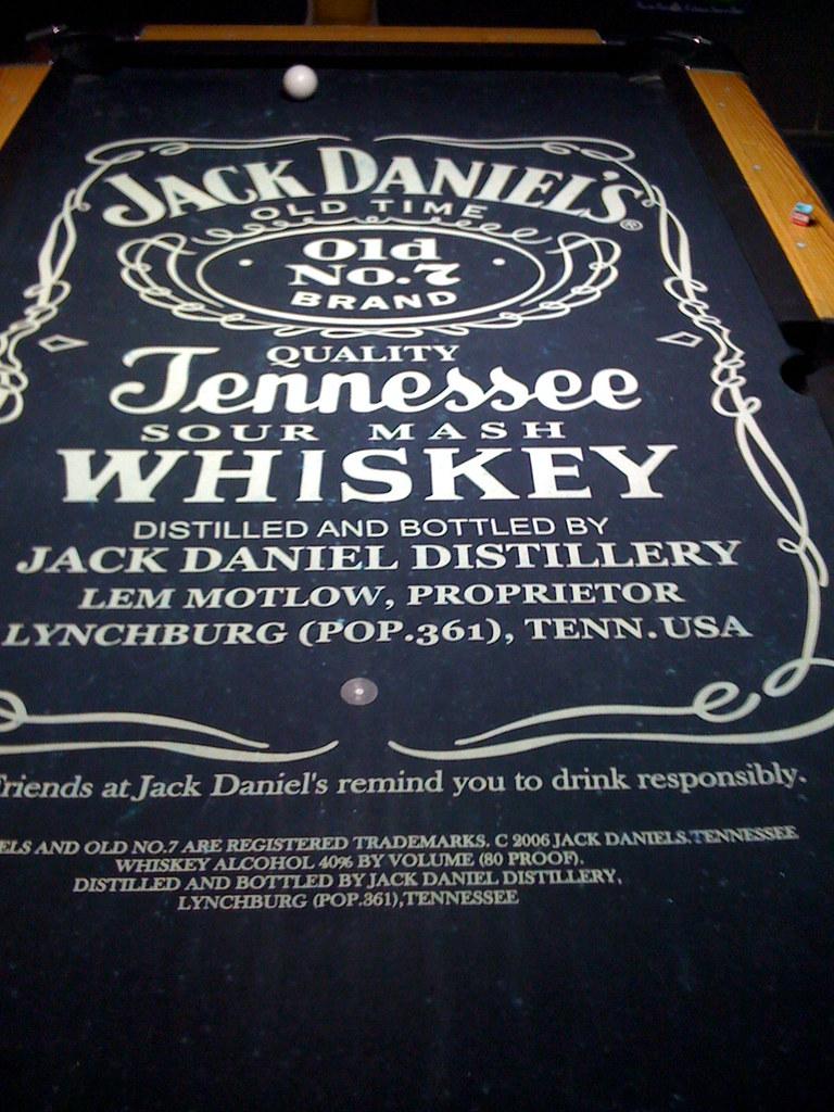 Nice Jack Daniels Pool Table | Nathan Cooper | Flickr