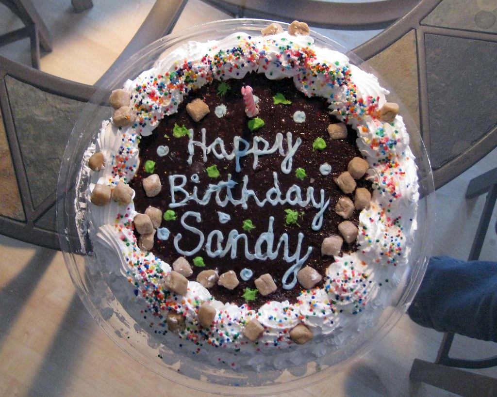 Happy Birthday Cake Text Image
