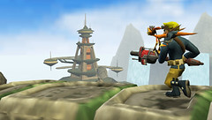 Jak and Daxter: The Lost Frontier screenshot Brink Castaway 2 | by PlayStation.Blog