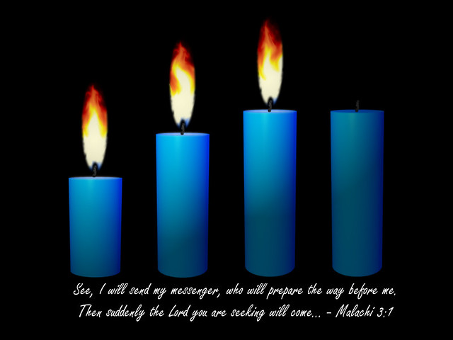 Advent Candle Week 3 | Religious clipart | WELS net | Flickr
