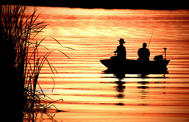 Sunset fishing in kissimmee experience kissimmee flickr for Free fishing spots near me