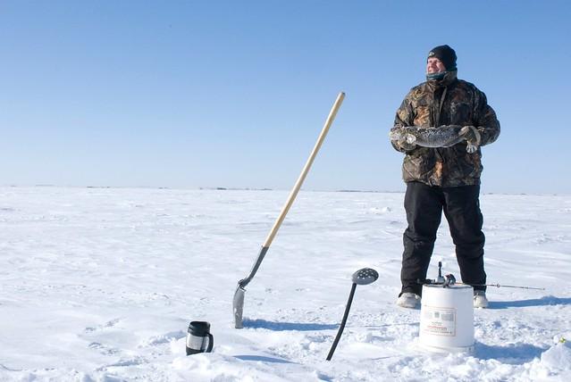 Ice fishing saskatchewan canada flickr photo sharing for Ice fishing canada