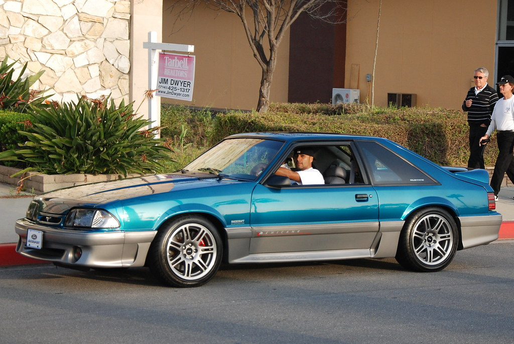 Ford Mustang Gt Foxbody With 10th Anniversary Svt Cobra Wh