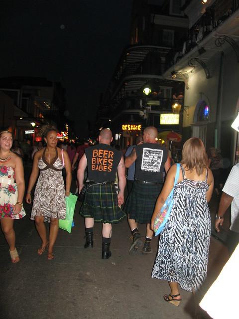 Bourbon Street, divertido punto en Nueva Orleans - Ser