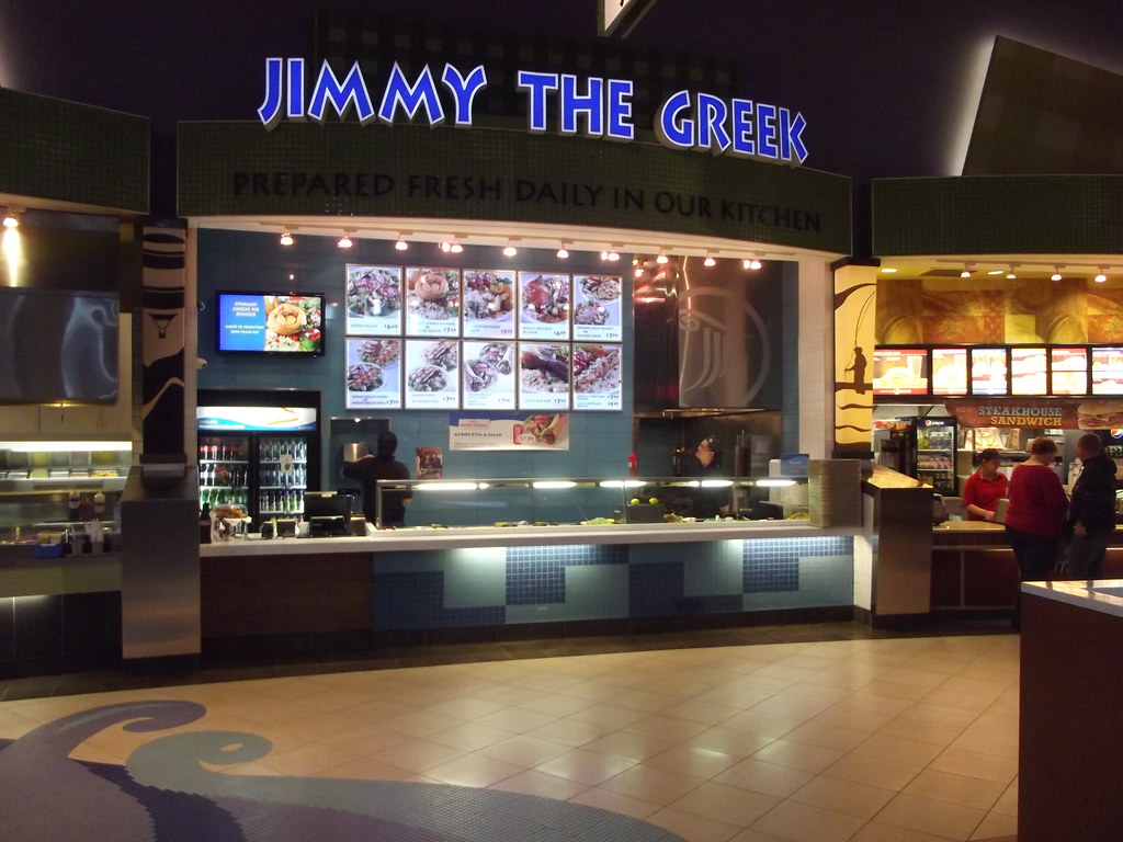 Jimmy The Greek Food Court Cat Town Center