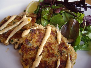 Crab Cakes from Black Creek Bistro (Columbus, OH) | by swampkitty