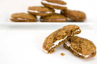 Homemade Oatmeal Cream Pies | by t.sullivan photography