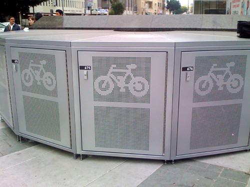 Metro Bike Locker Metro Bike Locker