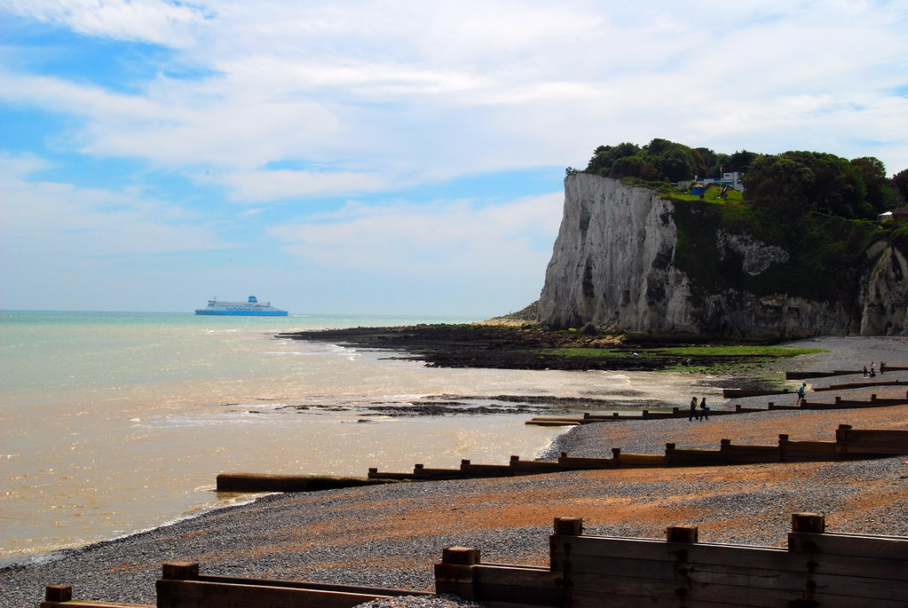 Sailing into Dover as Viewed from St Margaret's-at-Cliffe ...