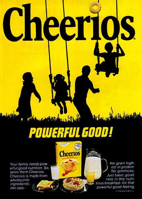 vintage ad  881  cheerios are powerful good