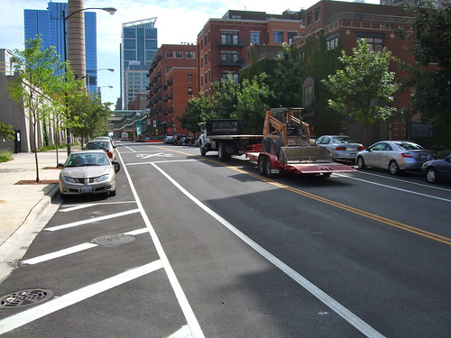 What a new bike lane might look like | by Steven Vance
