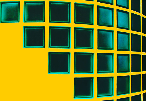 Abstract in green and yellow | by Steve-h