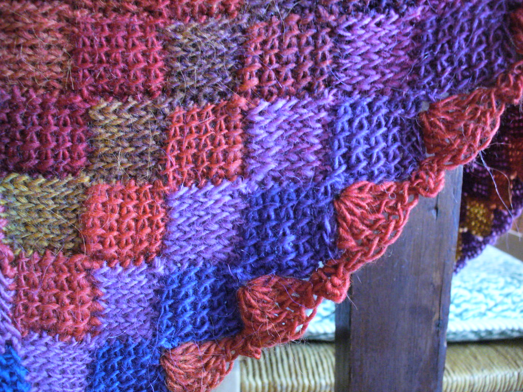 Knitting Stitch Patterns Entrelac : Crochet Entrelac Baby Blanket True entrelac, in crochet...? Flickr