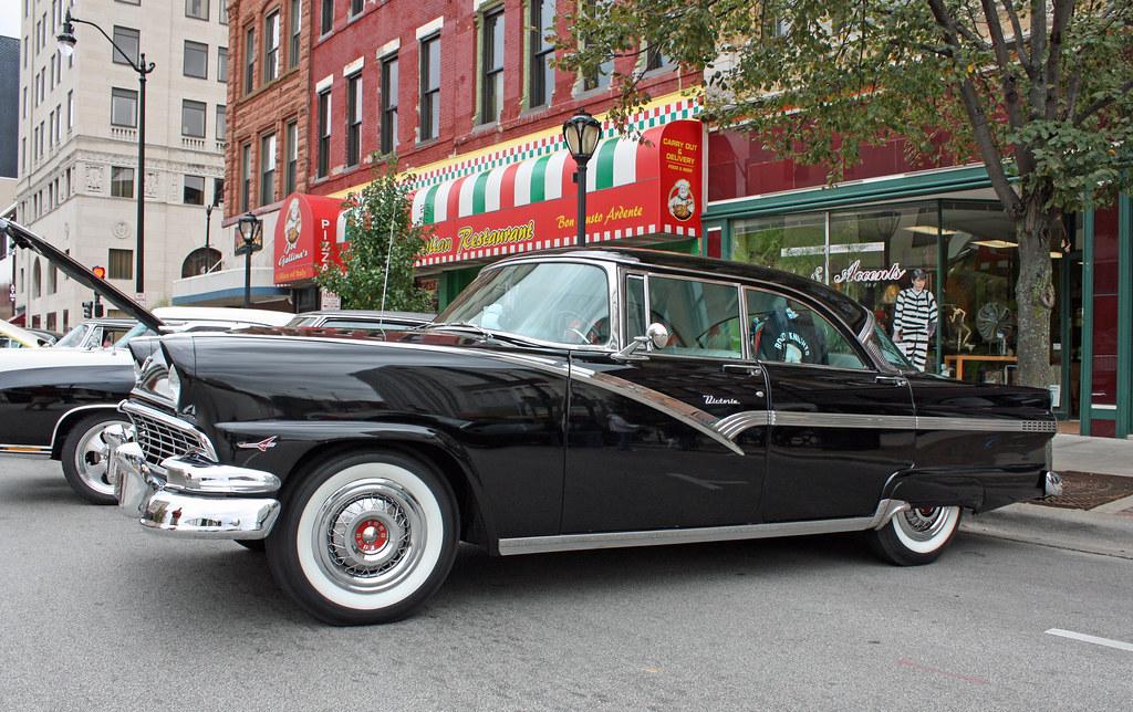 1956 ford fairlane victoria 4 door hardtop 7 of 13 flickr for 1956 ford fairlane 4 door hardtop