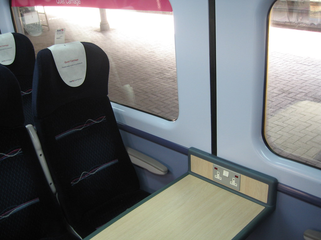 Travel First Class By Train
