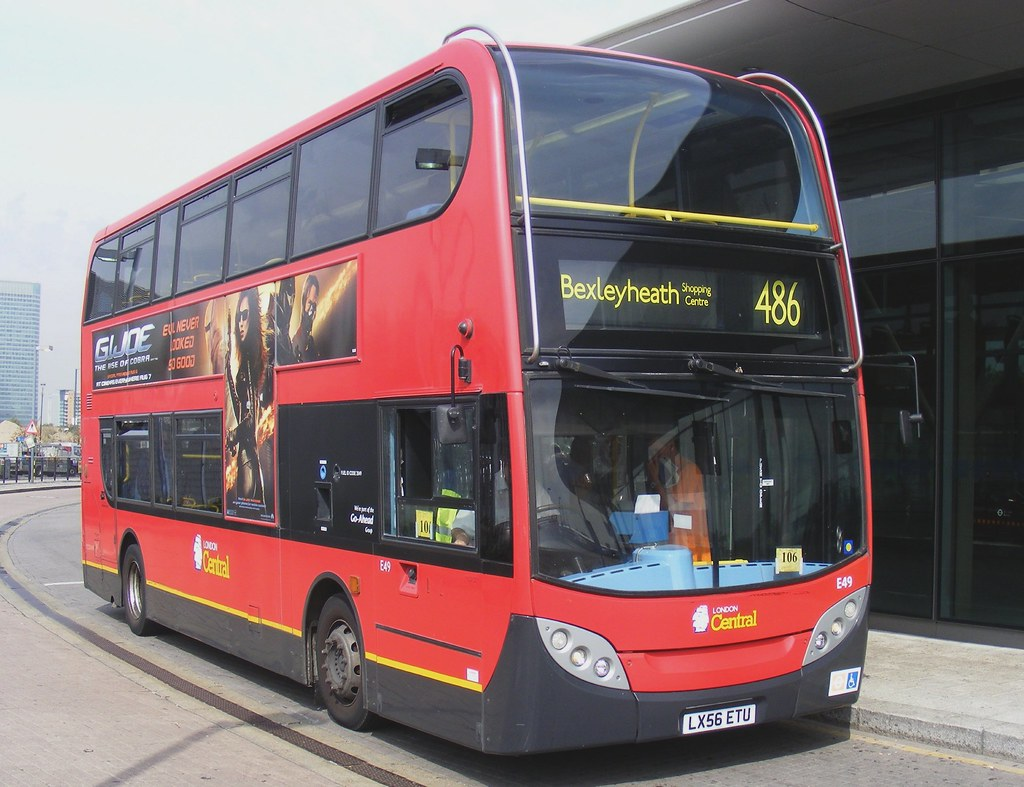 go ahead london e49 lx56etu north greenwich bus station 24 flickr. Black Bedroom Furniture Sets. Home Design Ideas