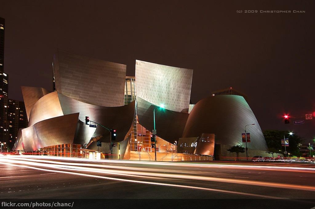 Walt Disney Concert Hall Founders Room Menu