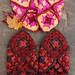 Whit's Knits: Granny Square Slippers