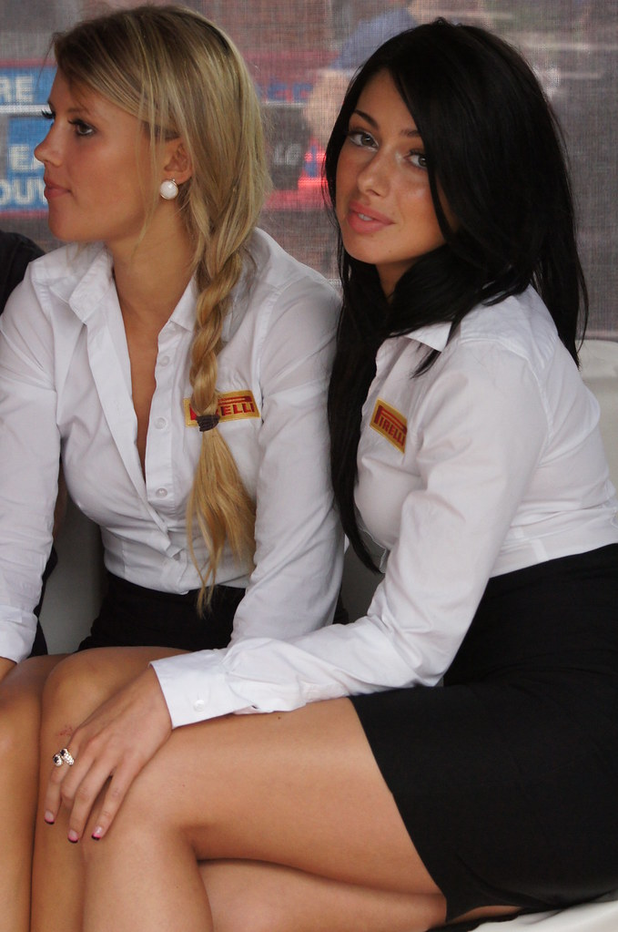 Pirelli Girls, F1 Pre Race Celebrations, Crescent Street ...