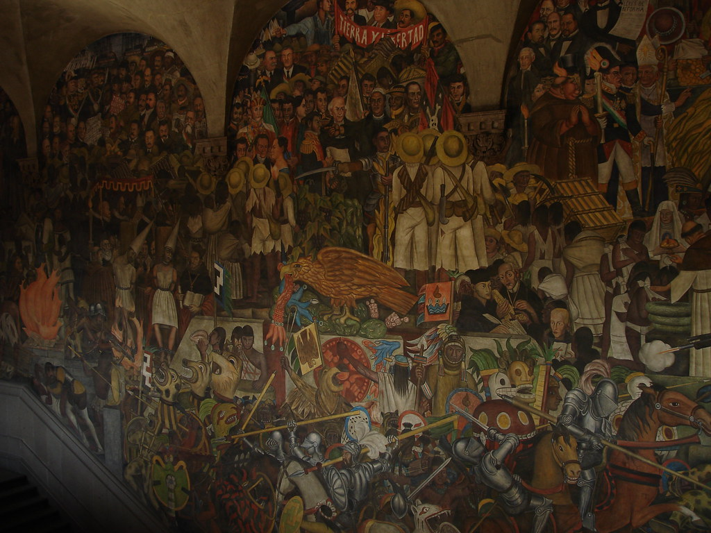 diego rivera murals in mexico city hspauldi flickr