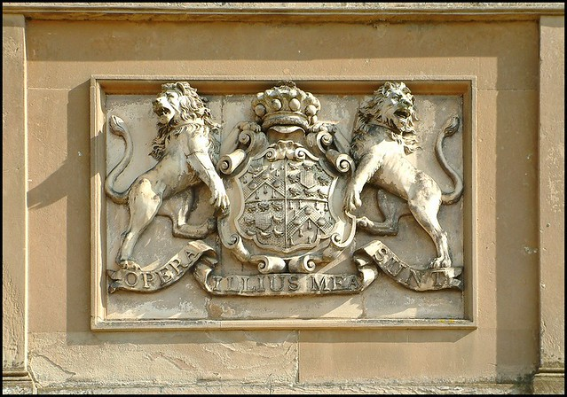 Browlow Family Coat Of Arms Belton House Lincolnshire
