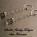 Starlite Jewelry Designs ~ Briolette Earrings ~ Prasiolite Earrings ~ San Francisco Jewelry Design