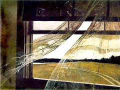 Wyeth, Andrew (1917-2009) - 1943 Wind From the Sea | by RasMarley
