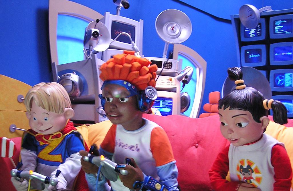 Lazytown: Pixel, Ziggy, and Trixie | Ninja Puppet | Flickr