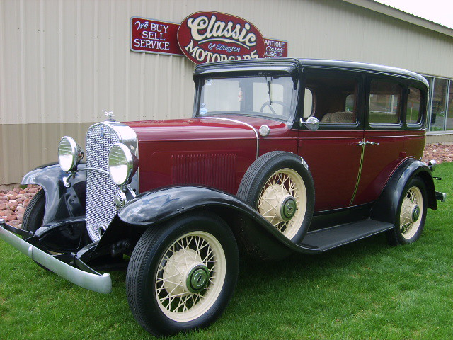 1931 chevrolet 4 door standard sedan classic motorcars for 1931 chevrolet 4 door sedan