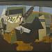 Georges Braque, Guitare et compotier, 1919