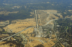Above SLAC, I-280, and the San Andreas fault, Menlo Park, California | by cocoi_m